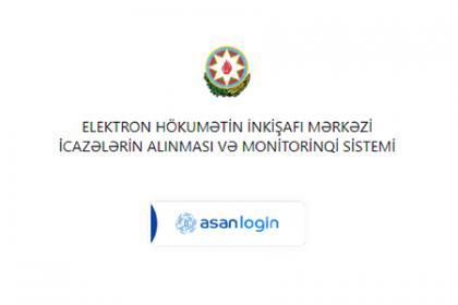 icazələrin aktivləşdirilməsi, icaze.e-gov.az, İcazələr